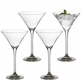 LSA Coro koktejlová sklenice, set 4ks platina
