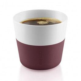 Hrnky na kávu Lungo , burgundy 230ml, set 2ks, eva solo