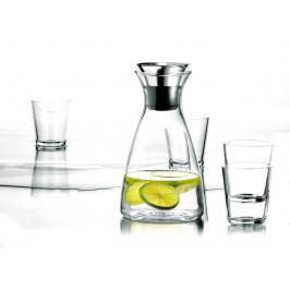 Set Karafa s drip-free okrajem + 4 sklenice, čirá, Eva Solo