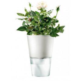 Samozavlažovací květináč na bylinky, křídově bílá 13cm, Eva Solo