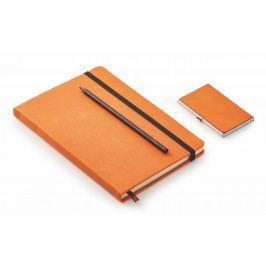 Dárkový set 3ks Notes - vizitkář, zápisník, tužka - Philippi