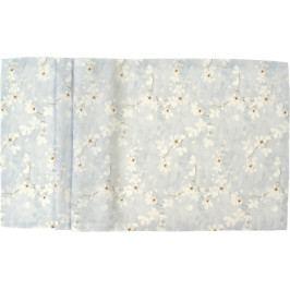Středový pás Cherry Blossom 50 x 140 cm, modrá - Sander