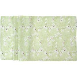 Středový pás Cherry Blossom 50 x 140 cm, zelená - Sander