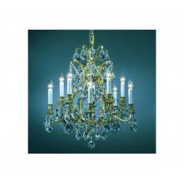 Artcrystal Artcrystal PAL515400010 - Křišťálový lustr 10xE14/40W/230V