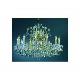 Artcrystal Artcrystal PAM571000013 - Křišťálový lustr 12xE14/40W+1xE27/60W/230V