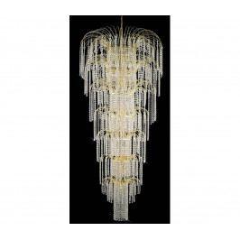 Artcrystal Artcrystal PCB077500019 - Křišťálový lustr 19xE14/40W/230V