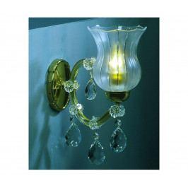 Artcrystal Artcrystal PWM571001001 - Křišťálové nástěnné svítidlo 1xE14/40W/230V