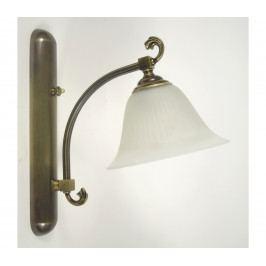 Prezent Nástěnné svítidlo PEDRO 1xE27/60W/230V bronz
