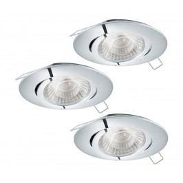 Eglo Eglo 95358 - SADA 3x LED podhledové svítidlo TEDO 3xGU10-LED/5W/230V EG95358