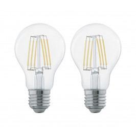 Eglo SADA 2x LED žárovka FILAMENT CLEAR E27/6W/230V - Eglo 11509 EG11509