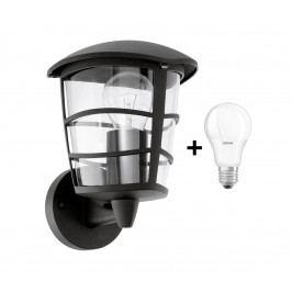 Eglo Eglo 93097 - LED Venkovní nástěnné svítidlo ALORIA 1xE27/9W/230V IP44 EG93097