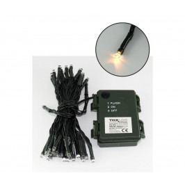 Baterie Centrum LED Vánoční venkovní řetěz 5,4 m 50xLED/3xAA 2700 K IP44 BC0228