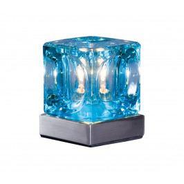 Prezent Stolní lampa DECORA modrá