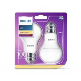 Philips SADA 2x LED žárovka Philips E27/13W/230V