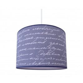 Lampdar Lustr na lanku JEANS 1xE27/60W/230V písmena