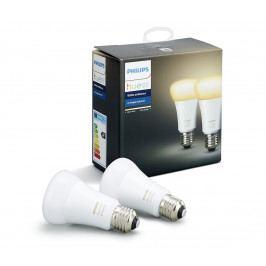 Philips SADA 2x LED Stmívatelná žárovka Philips HUE WHITE AMBIANCE E27/9,5W/230V