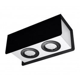 Sollux Bodové svítidlo STEREO 2 2xGU10/40W/230V