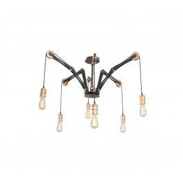 Light4home Lustr na tyči BELLA 6xE27/60W/230V