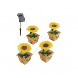 Eglo EGLO 47125 - Solární zahradní světlo slunečnice 4xLED/0,015W IP44