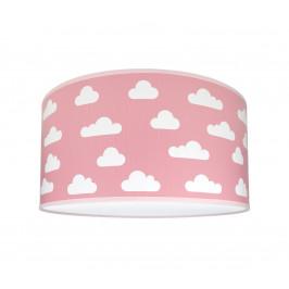Lampdar Dětské stropní svítidlo CLOUDS PINK 2xE27/60W/230V růžová