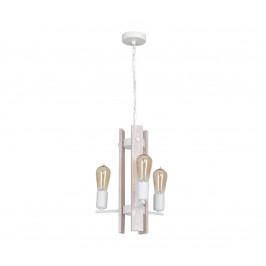 Luminex Lustr GERA 3xE27/60W/230V bílá