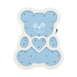 Polux LED Dětská lampa LED/2xAA modrý medvěd