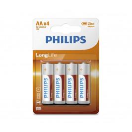 Baterie Philips LongLife AA 4ks
