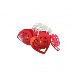 Milagro LED Dekorační řetěz HEART LED/2xAA