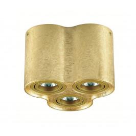 Auhilon Stropní svítidlo TUBA NERO 3xGU10/50W/230V