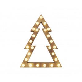EMOS LED Vánoční dekorace 25xLED/1,5W/2xAA stromek