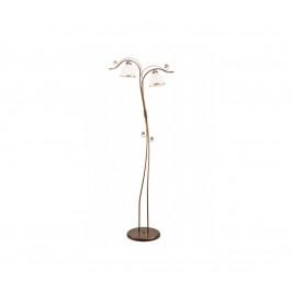 Lamkur Stojací lampa RETRO II 2xE27/60W/230V hnědá