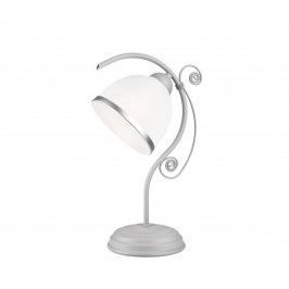 Lamkur Stolní lampa RETRO II 1xE27/60W/230V stříbrná