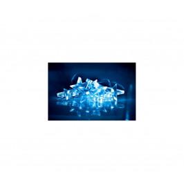 Solight LED vánoční řetěz, hvězdy, 1,5m, 10x LED, 2x AA, modré světlo, 1V52