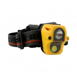Baterie centrum LED Čelovka se senzorem LED/3W/3xAAA