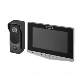 EMOS Domácí videozvonek 14,5 V IP44 stříbrný