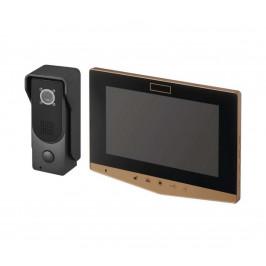 EMOS Domácí videozvonek 14,5 V IP44 zlatý