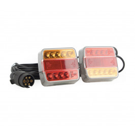 KT Trade LED Poziční svítidlo MAGNET LED/2,6W/12V IP67 červená/oranžová