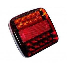 KT Trade LED Poziční svítidlo MULTI LED/1,5W/12V IP67 červená/oranžová