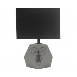 Candellux Stolní lampa ANIMI 1xE14/40W/230V černá