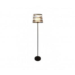 Candellux Stojací lampa AKITA 1xE27/40W/230V černá