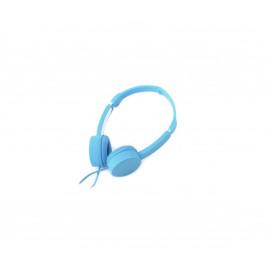 Platinet Sluchátka s mikrofonem JACK 3,5 mm modrá