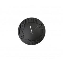 Platinet Nástěnné hodiny 3D design 1xAA černá