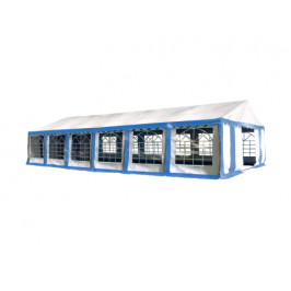Hawaj Párty stan Premium 6 x 12 m modro-bílý