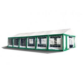 Hawaj Párty stan Premium 6 x 12 m zeleno-bílý