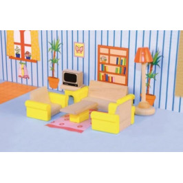 Woody Nábytek do domečku Obývací pokoj