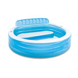 Intex bazén se sedačkou 224 x 216 x 76 cm 57190