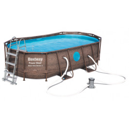 Bestway Power Steel Rattan Swim Vista 4,27 x 2,5 x 1 m 56714
