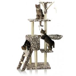 Škrábadlo Hawaj pro kočky, 138x50,5x36 cm, leopardí
