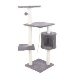 Hawaj Škrabadlo pro kočky 112 cm antracit 8016LG