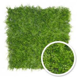 Umělá živá zelená stěna KAPRADINA, 100 x 100cm